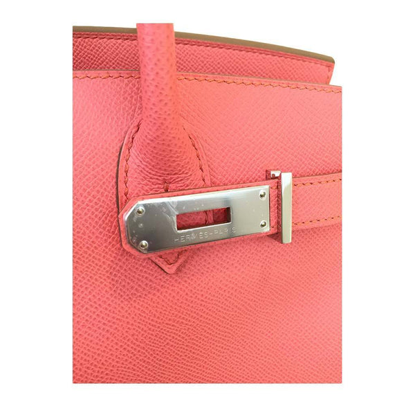 hermes birkin 30 pink flamingo new engraving