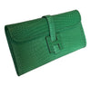 Hermes Jige Elan 29 Clutch Alligator Matte Bag pristine bag