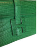 Hermes Jige Elan 29 Clutch Alligator Matte Bag pristine closure