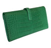 Hermes Jige Elan 29 Clutch Alligator Matte Bag pristine back