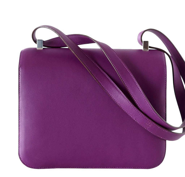 Hermes Constance 24 Anemone new back
