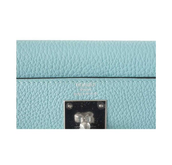Hermes Kelly 28 Atoll new embossing