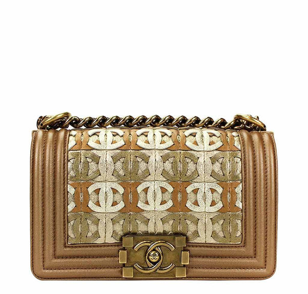 Chanel Runway Limited Edition Bag Gold