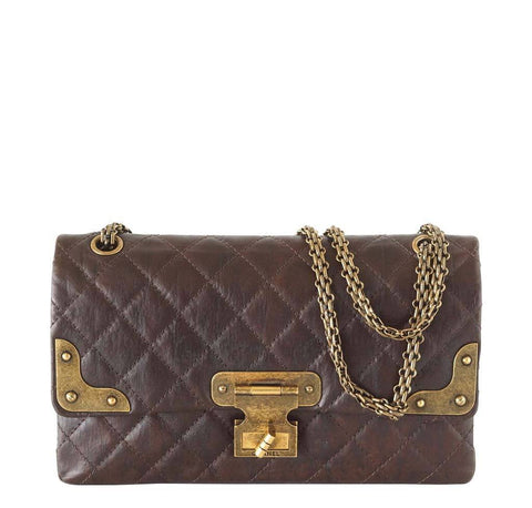 Chanel Medium Double Flap Bag Brown