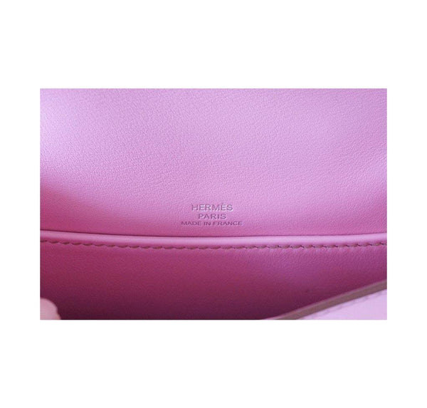 Hermes Kelly JPG Pochette Pink new embossing