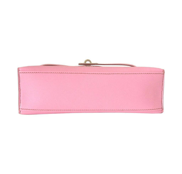 Hermes Kelly JPG Pochette Pink new bottom