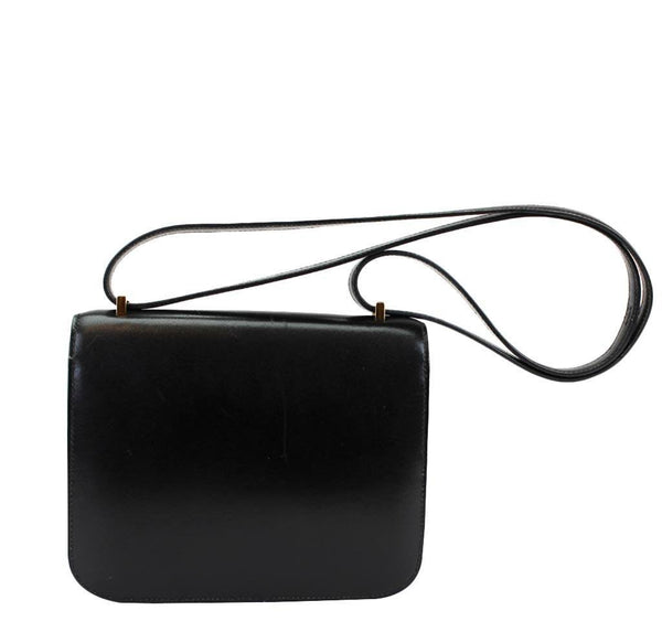 hermes constance 18 black used back