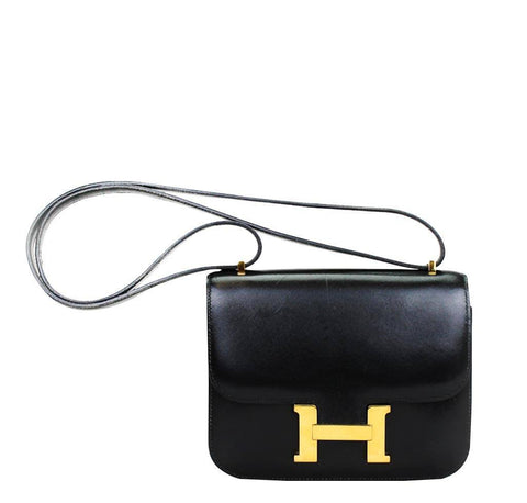 Hermes Constance 18 Black Bag