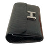Hermes Constance Long Wallet Alligator Noir Clutch excellent side