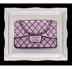 Limited Edition Diamond Bebe Rose Chanel Giclée