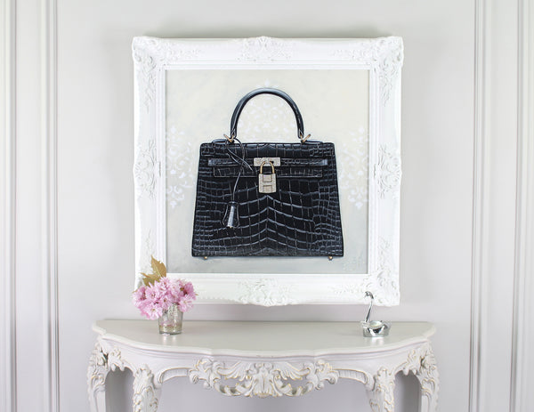 Limited Edition Timeless Hermes Kelly Giclée on Wall