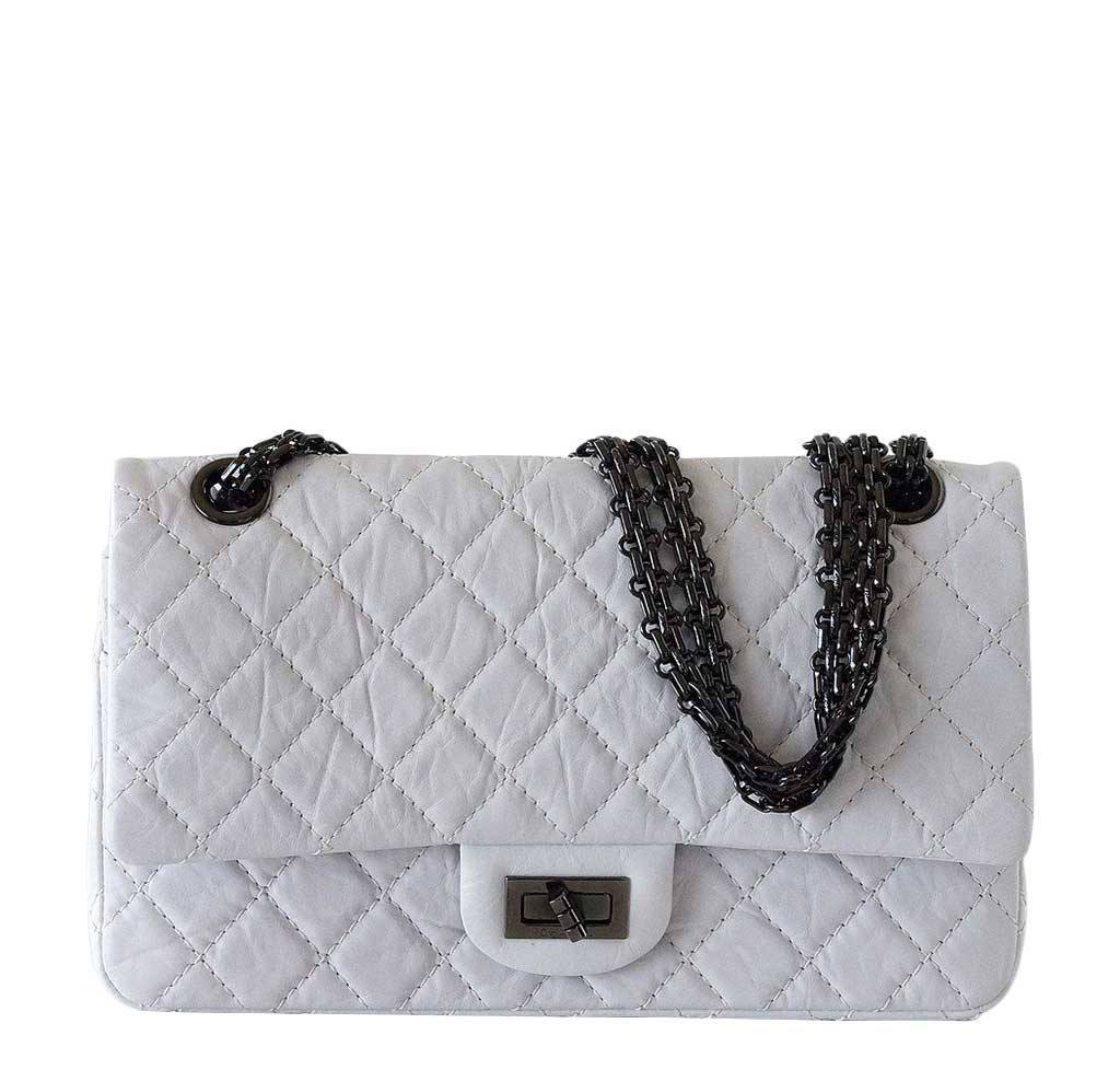 chanel bags classic small. chanel small 225 bag chalk white bags classic