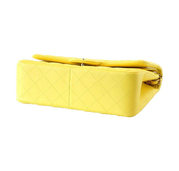Chanel Bag Classic Double Flap Yellow New Bottom