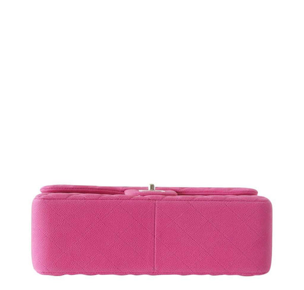 Chanel Bag Jumbo Classic Fuschia New Bottom