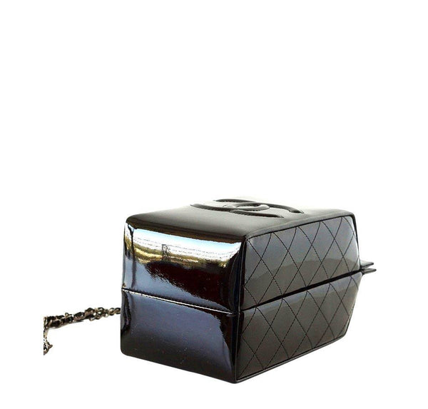Chanel Bag Milk Carton Black New Bottom