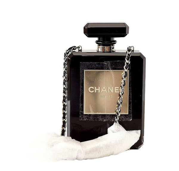 Chanel Bag Perfume Bottle New Front