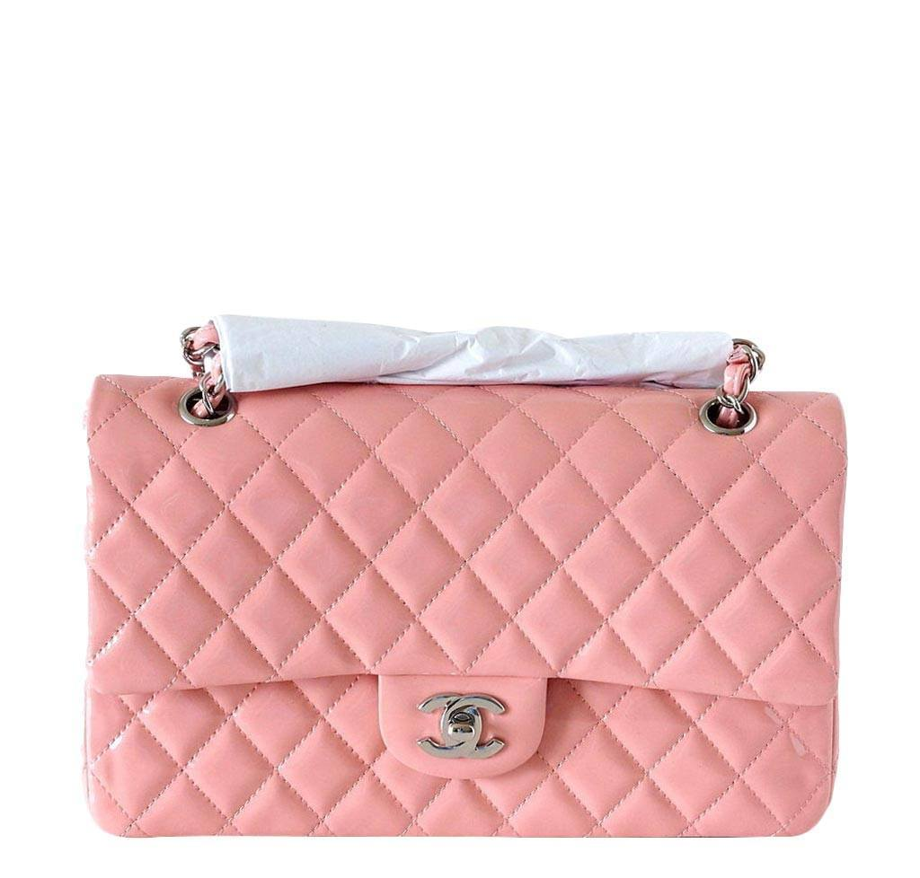 3a54e058f1 Chanel Classic Medium Flap Bag Cruise 2013 Pink | Baghunter