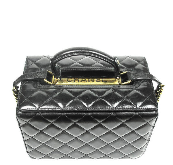 Chanel Vanity Bag Black