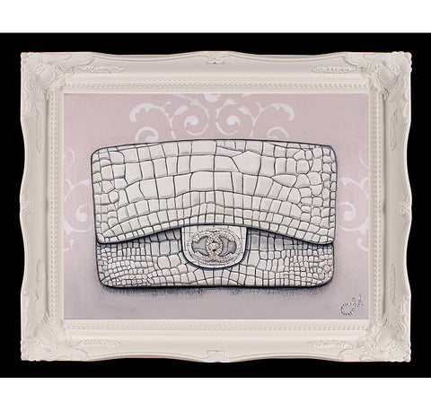 Original Chanel Diamond Forever Painting
