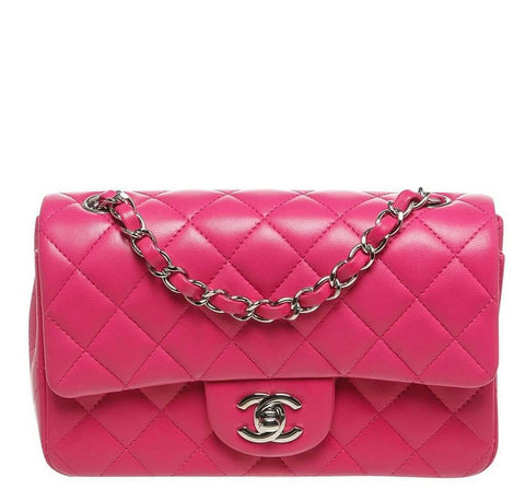 Chanel Mini Classic Flap Bag Pink