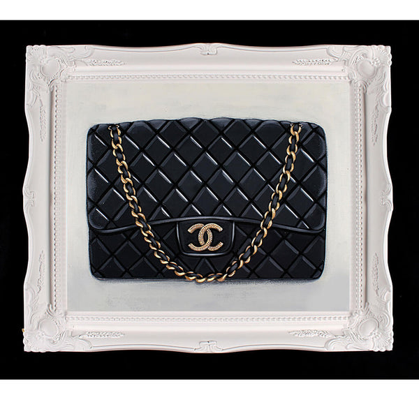 Medium Limited Edition Timeless Chanel Giclée