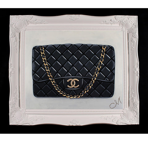 Original Timeless Chanel Painting