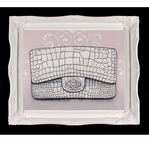 Limited Edition Chanel Diamond Forever Giclée