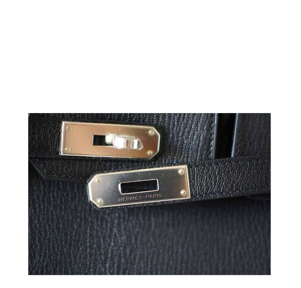 Hermes Birkin 30 Black New Engraving