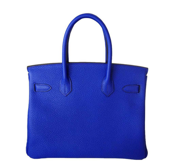 Hermes Birkin 30 Blue Electric Candy New Back