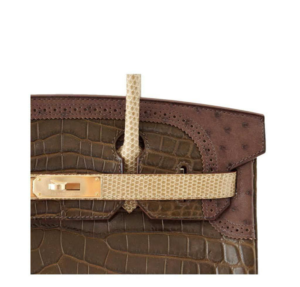 Hermes Birkin 30 Grand Marriage New Detail