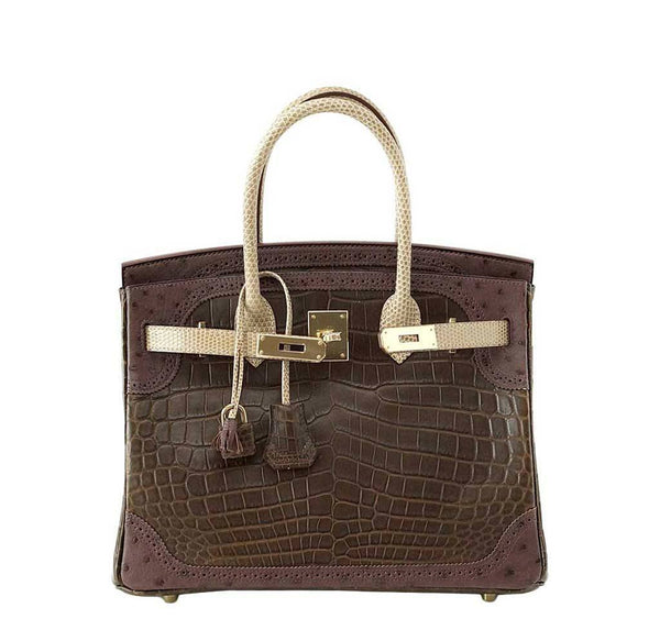 Hermes Birkin 30 Grand Marriage New Front Open