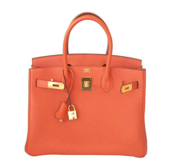 Hermes Birkin 30 Orange New Open