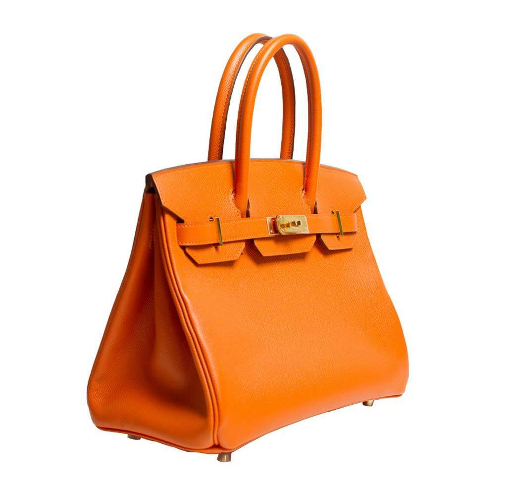 7fc1673ee8a9 low cost hermes birkin bag 25 orange swift leather gold hardware f11b3  66cc2  closeout hermes birkin 30 orange new side d2276 b1604