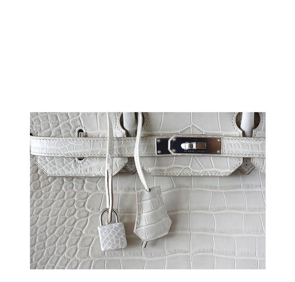 Hermes Birkin 35 Alligator Beton New Lock