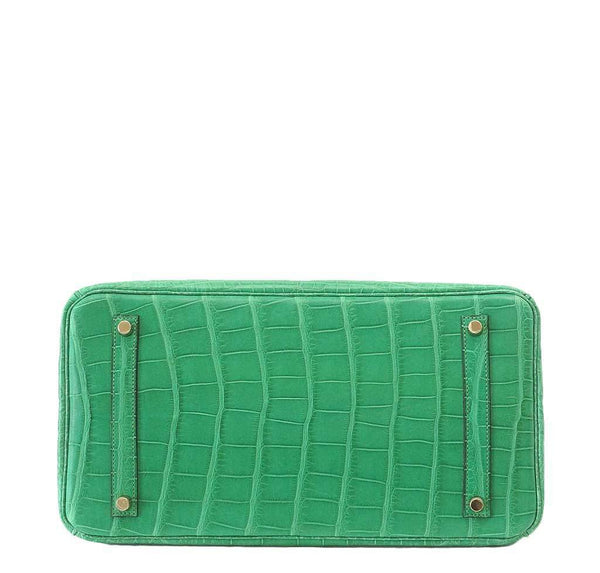 Hermes Birkin 35 Alligator Cactus New Bottom