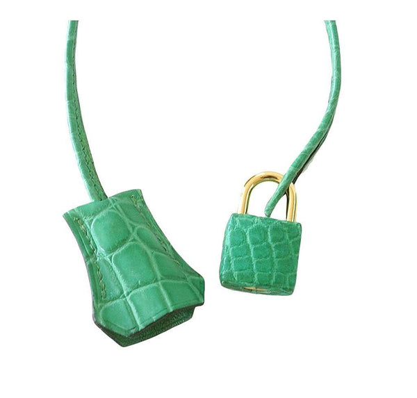 Hermes Birkin 35 Alligator Cactus New Lock