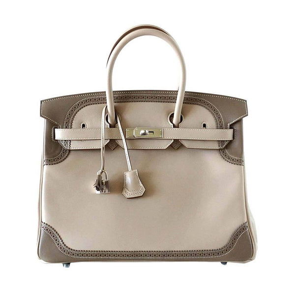 Hermes Birkin 35 Bag Ghillies