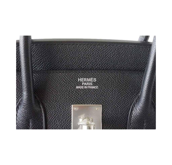 Hermes Birkin 35 Jet Black New Embossing