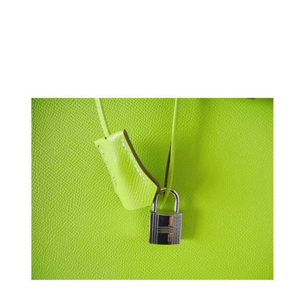 Hermes Birkin 35 Kiwi Candy Series New Lock