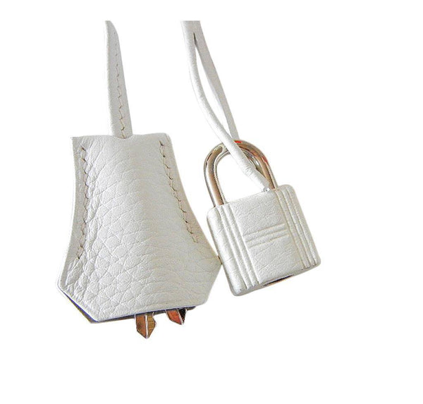 Hermes Birkin 35 White Club Lizard New Lock