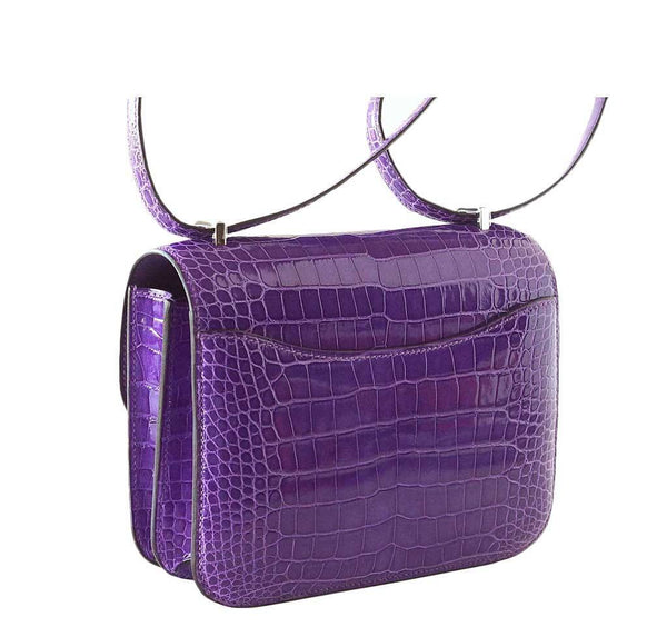 Hermes Constance 18 Violet New Side