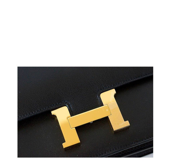 Hermes Constance Elan Black New Hardware