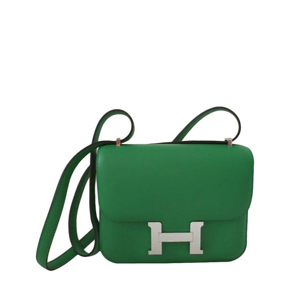 Hermes Constance Mini Bamboo Bag