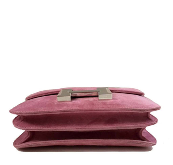 Hermes Constance Mini Fuchsia New Bottom