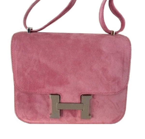 Hermes Constance Mini Fuchsia New Detail