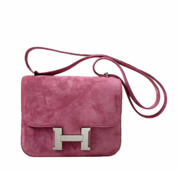 Hermes Constance Mini Fuchsia Bag