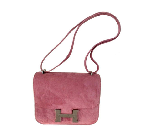 Hermes Constance Mini Fuchsia New Full