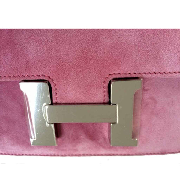 Hermes Constance Mini Fuchsia New Hardware