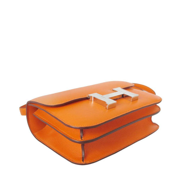 Hermes Constance Mini Orange New Flat