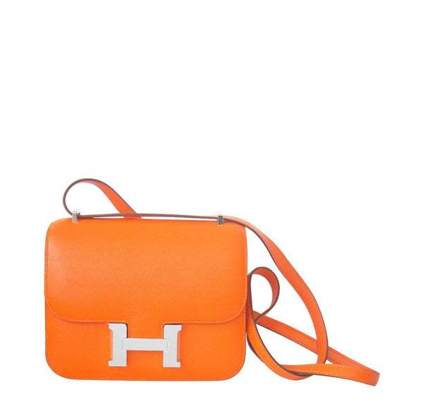 Hermes Constance Mini Orange New Front
